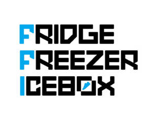 Fridge Freezer Icebox logo